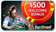 welcome bonus party poker